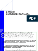 Dispneea- Probleme de Diagnostic