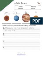 Solar System Superlatives