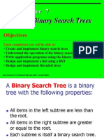 - binary search tree