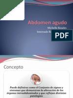 Abdomen Ag. Inflamatorio Pediatria