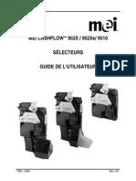 MEI Cashflow 9528- Guide de l'Utilisateur FR