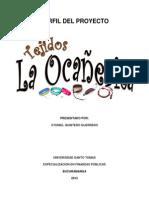Perfil de Proyecto TEJIDOS LA oCAÑERITA