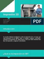 Impresión 3D