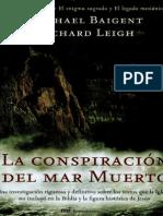 La conspiración del mar muerto