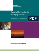 Sustainable Investing in Emerging Markets