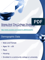 stress and the college student ppt
