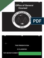 August 2009 NSA Cryptological School Course