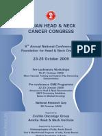 Indian Head Neck Oncology,Kochi ,Brochure