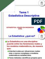 Estadistica - Tema 1.