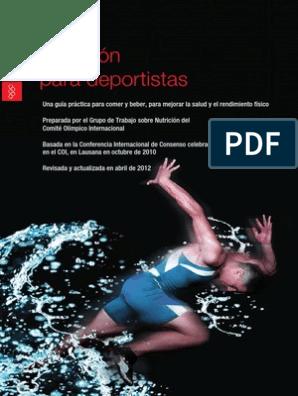 suplementos alimenticios para deportistas pdf