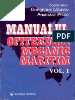 Manualul Ofiterului Mecanic Maritim Vol I