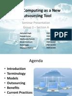 Seminar Group 3 Cloud Computing