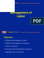 management of labor