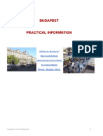 Budapest Practical Guide