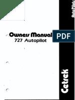 Cetrek727autopilot Manual