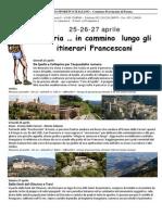 Umbria Itinerari Francescani