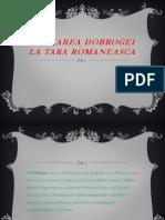 Anexarea Dobrogei La Tara Romaneasca