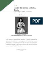 Analisis de Nocturno Redondillas p.paramo Lo Fatal