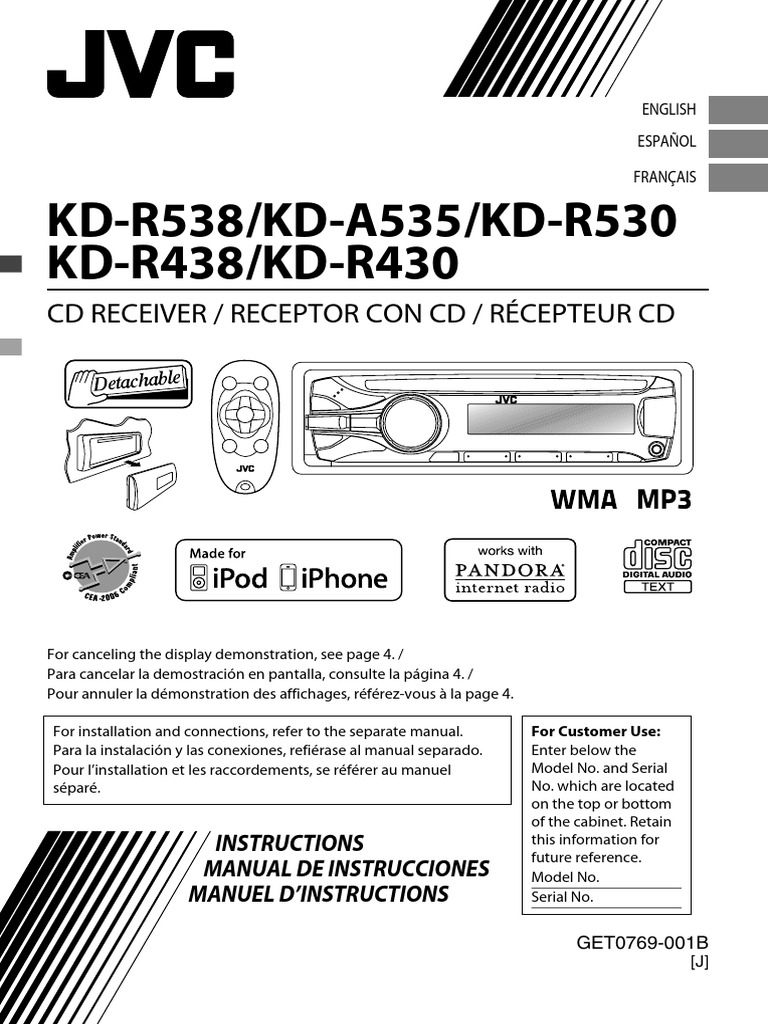Jvc Kd R530 Wiring Diagram   #1 Wiring Diagram Source  Channel Amp Wiring Diagram For Jvc Kd R on