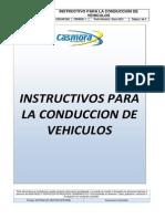 MSPC-SGI-INT-002 INSTRUCTIVO PARA LA CONDUCCIÓN DE VEHÍCULOS REV 1