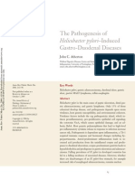 THE PATHOGENESIS OF HELICOBACTER PYLORI–INDUCED GASTRO-DUODENAL DISEASES