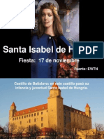 Santa Isabel de Hungría. 17 Noviembre.