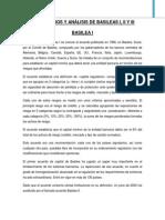 COMENTARIOS Y ANÁLISIS DE BASILEAS I