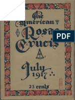 The American Rosae Crucis, July 1917