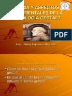 Teorías y Aspectos centrales de la Gestalt.