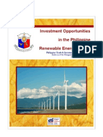 Philippine Renewable Energy Briefer