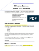Leadership - General Information (Floris Barthel's Conflicted Copy 2011-04-05)