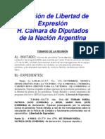 Comisión de Libertad de Expresión