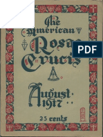 The American Rosae Crucis, August 1917