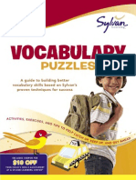 First Grade Vocabulary Puzzles by Sylvan Learning - Excerpt