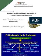 tema 3 Orientación e intervención en un proceso inclusivo
