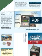 Farebox Brochure