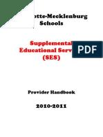 SES CMS Provider Handbook 2010-2011