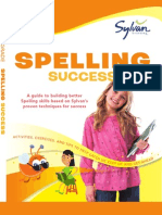 Third Grade Spelling Success by Sylvan Learning - Excerpt