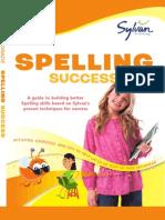 Third Grade Spelling Success by Sylvan Learning - Excerpt