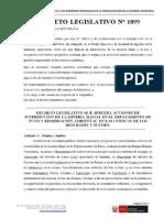 Decreto Legislativo N° 1099