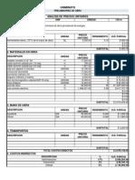 Apu Preliminares de Obra Trabajo Admin