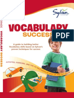 Fourth Grade Vocabulary Success by Sylvan Learning - Excerpt