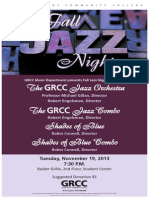 1314-21058 Fall Jazz Night Poster 2013