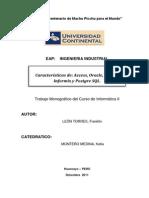 Monografia- Base de Datos - Informatica II