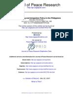 Journal of Peace Research 2007 Yamamoto 195 213