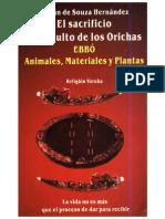 104926082 El Sacrificio en El Culto de Los Orishas Adrian de Souza Hernandez