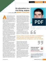 PC Pro column, issue 220