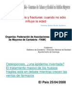 Tabaco y Osteoporosis
