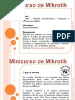 Slide Minicurso