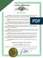 DisasterPreparednessMonth Proclamation
